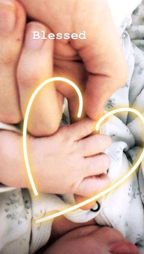 Кэндис Свейнпол родила второго ребенка