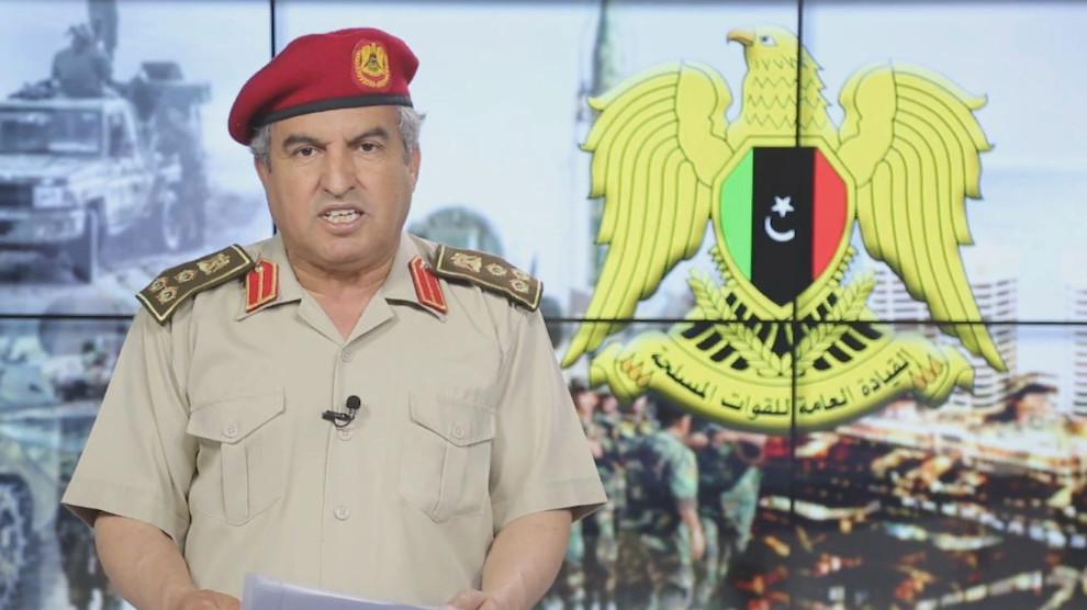 Бригадный генерал ЛНА Халид Махджуб прокомментировал крушение вертолета в районе Аль-Джуфры
