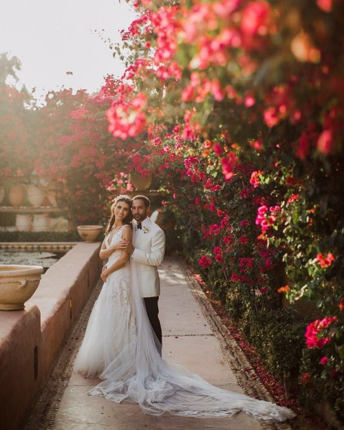 Дочь Валерия Меладзе отпраздновала медовый месяц в Марракеше