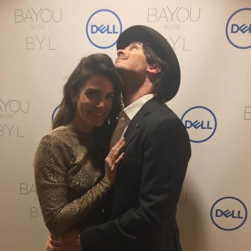 Никки Рид и Йен Сомерхолдер появились на презентации линии ювелирных украшений из переработанных материалов Dell