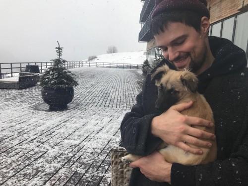 Данила Козловский и Ольга Зуева завели собаку