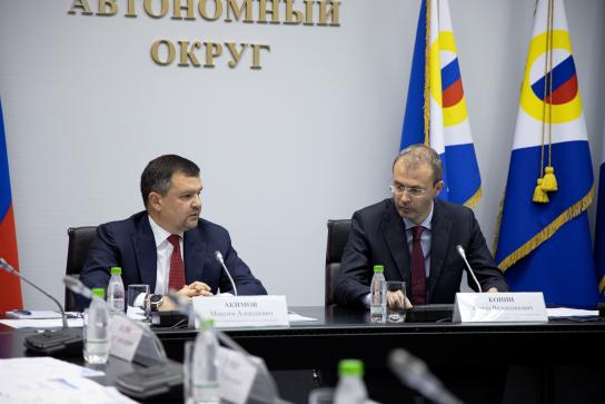 Максим Акимов: обсудили на Чукотке вопросы разного калибра и все они точно получат поддержку
