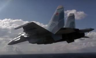 «Соколы России» продемонстрировали возможности Су-30СМ