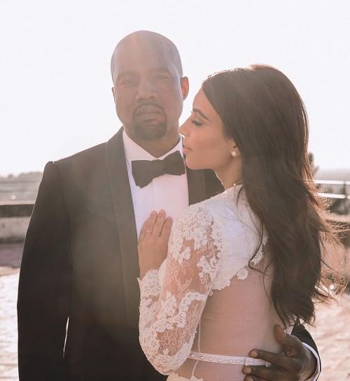 Четвертая годовщина свадьбы Канье Уэста и Ким Кардашьян