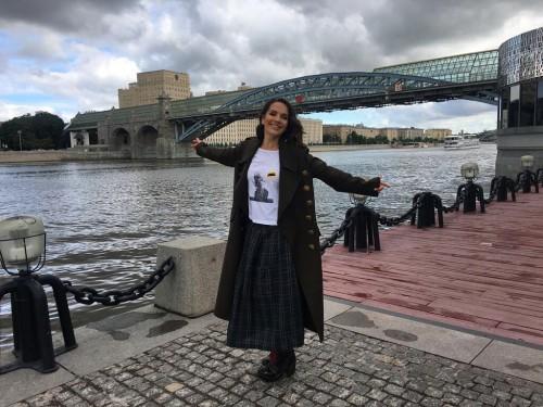 Наталия Орейро посетила Москву