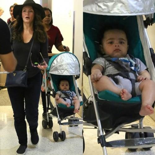 В сети появились первые фото второго усыновленного сына Кристин Дэвис