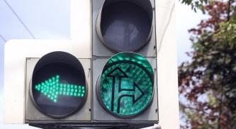 Москвичам очень понравился «солнечный» светофор