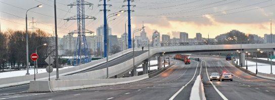 Началась реконструкция развязки на пересечении МКАД с Бесединским шоссе