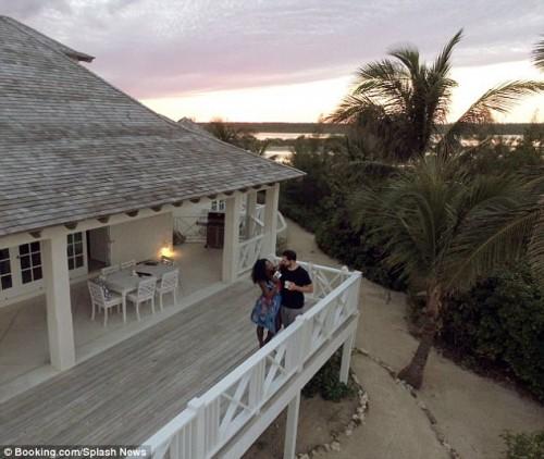 Серена Уильямс и Алексис Оганян отправились в медовый месяц на Багамы
