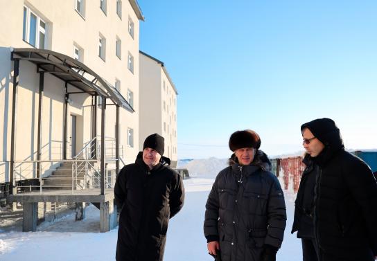 Учителя и врачи получат квартиры, построенные на Чукотке с помощью средств «Единой субсидии»