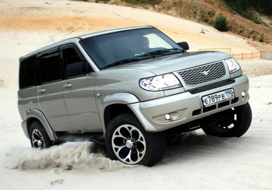 Двигатель УАЗ «Патриот» усилили до 230-ти лошадиных сил