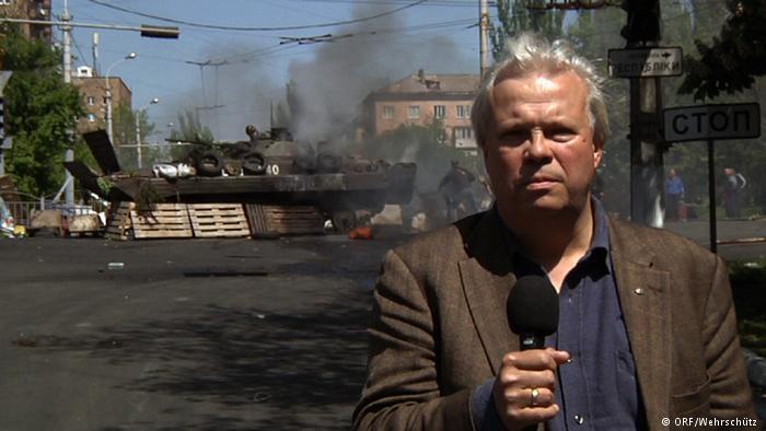Украинские националисты угрожают австрийскому журналисту