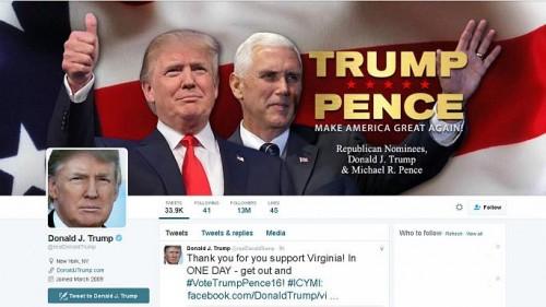 Аккаунт Дональда Трампа в Твиттере заблокировали