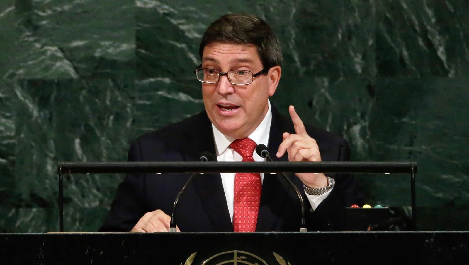 Глава МИД Кубы заявил, что США представляют опасность для всего человечества