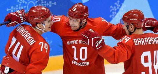 МОК с пониманием отнесся к исполнению гимна РФ российскими хоккеистами