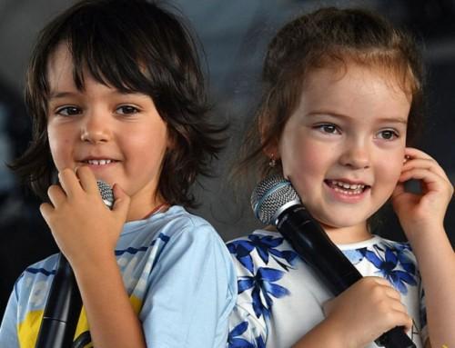 Дети Киркорова исполнили вместе с папой его песню
