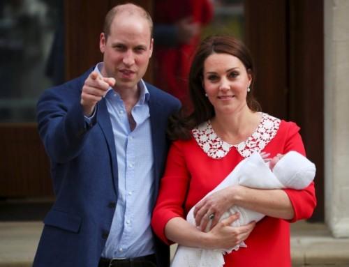 Стало известно имя третьего ребенка Кейт Миддлтон и принца Уильяма