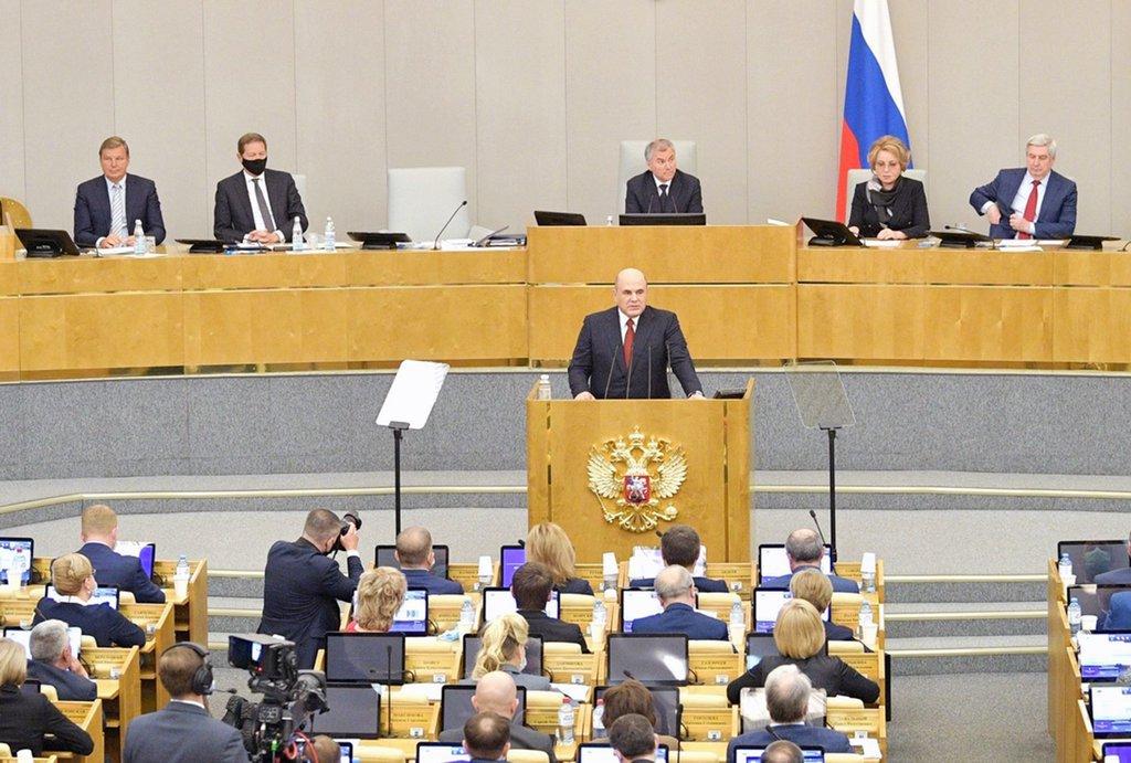 Премьер-министр России Михаил Мишустин отчитался перед парламентариями за работу правительства