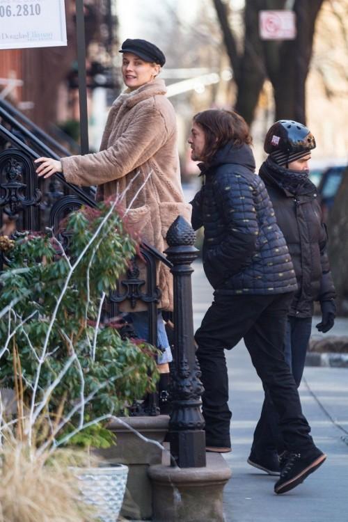 Диана Крюгер и Норман Ридус покупают квартиру в Нью-Йорке