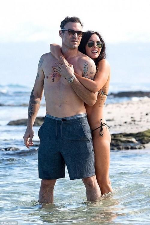 Меган Фокс и Брайан Остин Грин отдыхают на Гавайях