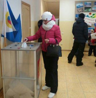 В городском округе Эгвекинот проголосовало более 83%избирателей