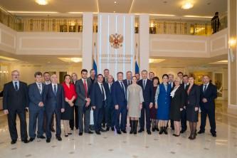 Роман Копин рассказал о социально-экономическом развитии Чукотского автономного округа на заседании Совета Федерации