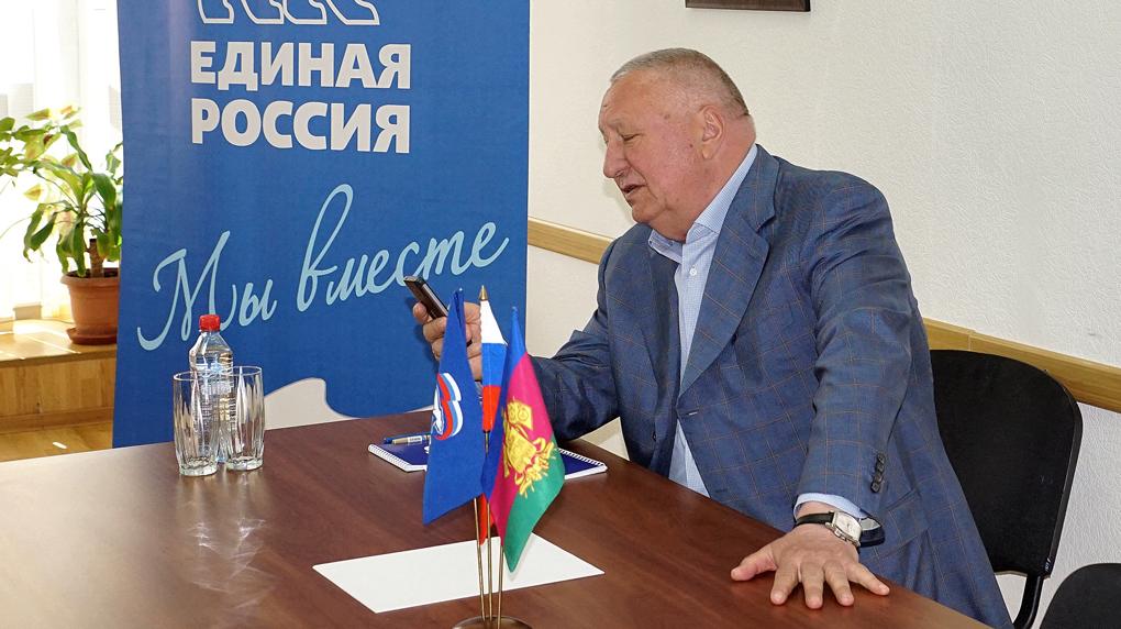 Депутат российского парламента встретился с новороссийскими учителями