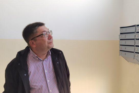 Леонид Николаев проконтролировал качество ремонта подъездов окружной столицы
