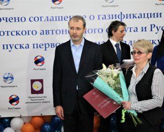 Губернатор Чукотки поблагодарил участников проекта по газификации Анадырской ТЭЦ