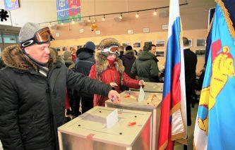Губернатор Роман Копин поблагодарил жителей Чукотки за активное участие в выборах