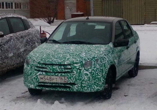 В сеть попали фото новой модели АвтоВАЗа Lada Granta FL