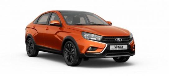 АвтоВАЗ запускает серийное производство Lada Vesta Sedan Cross