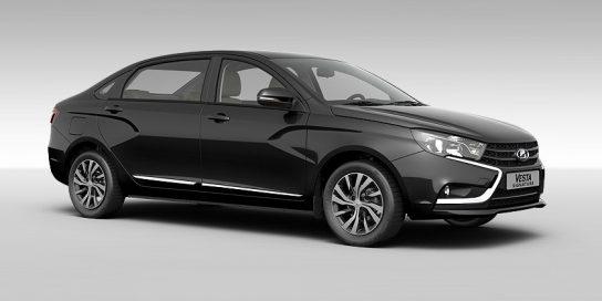 АвтоВАЗ показал новую версию Lada Vesta Signature