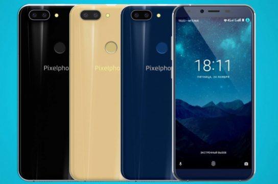 В продажу поступил новый российский смартфон Pixelphone M1