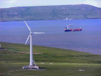 На Чукотке идет полная модернизация ветропарка