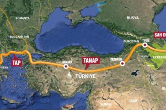 ЕС в бешенстве: TANAP будет транспортировать российский газ в Европу