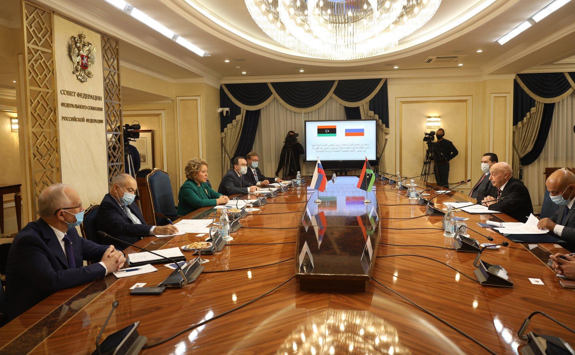 Глава Палаты представителей Ливии объяснил Валентине Матвиенко, почему власть ПНС незаконна