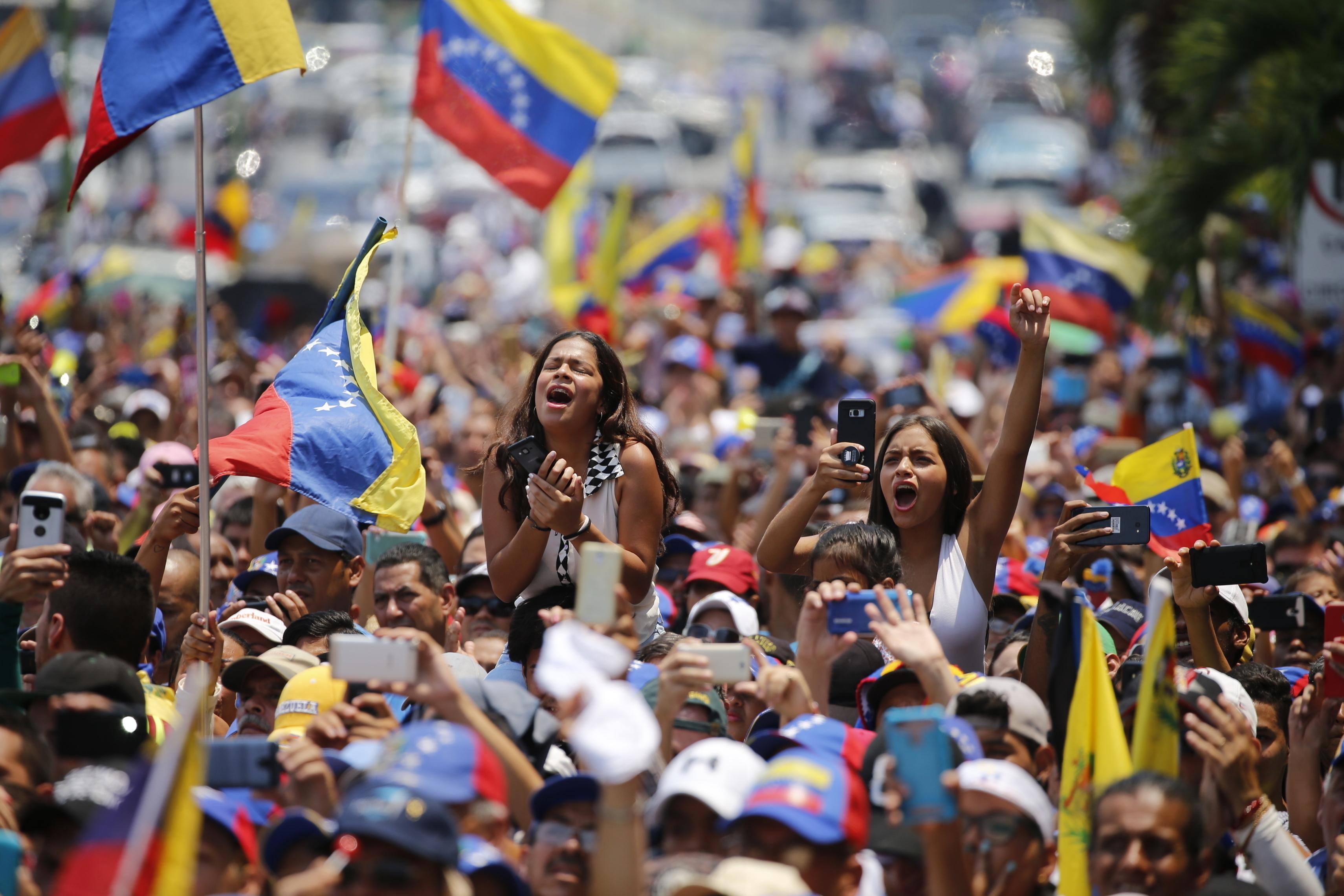 Оппозиция просит США ввести войска в Венесуэлу