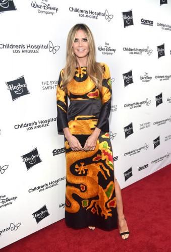 Хайди Клум и другие знаменитости на благотворительном вечере детской больницы Лос-Анджелеса