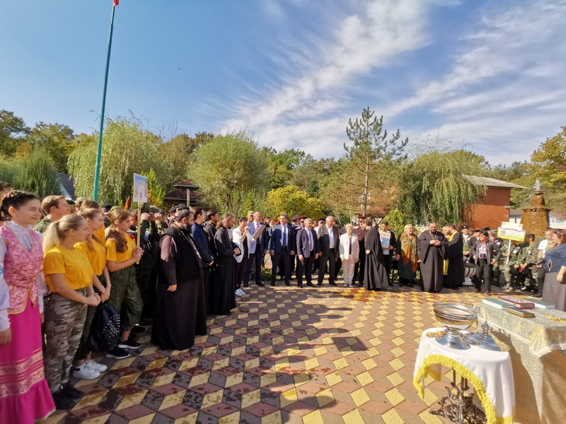 В Горячем Ключе прошел юбилейный слет православной молодежи Кубани
