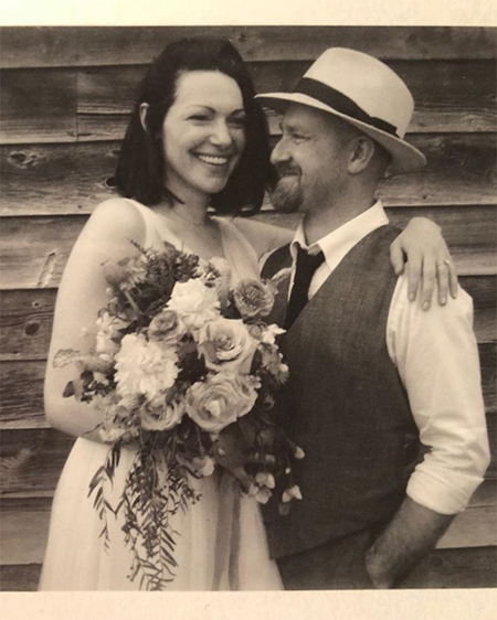 Лора Препон и Бен Фостер поженились