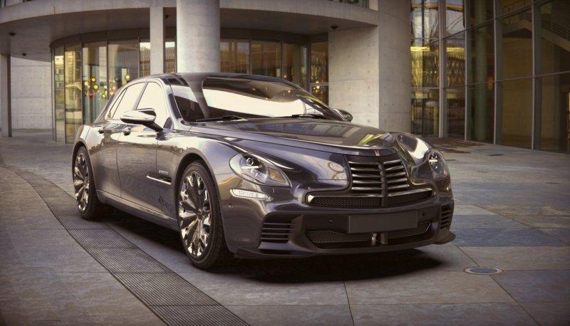 Новая версия автомобиля «Победа» поражает воображение