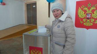 Около 10 тысяч избирателей Чукотки проголосовали на выборах Президента России