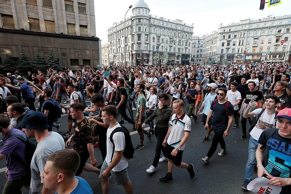 Москва предупредила Вашингтон о недопустимости рекламы незаконных акций оппозиции