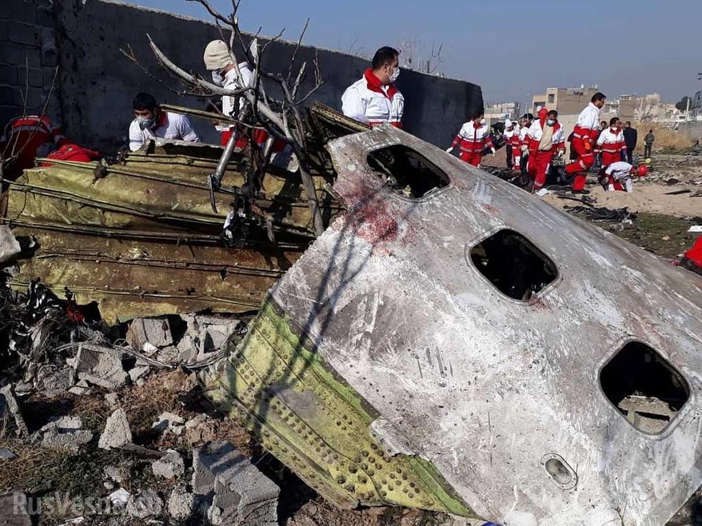 Настоящие причины гибели украинского Боинга в Иране
