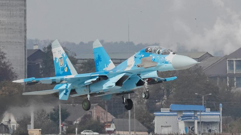 Су-27иF-15«сошлись» вучебном боюнаУкраине