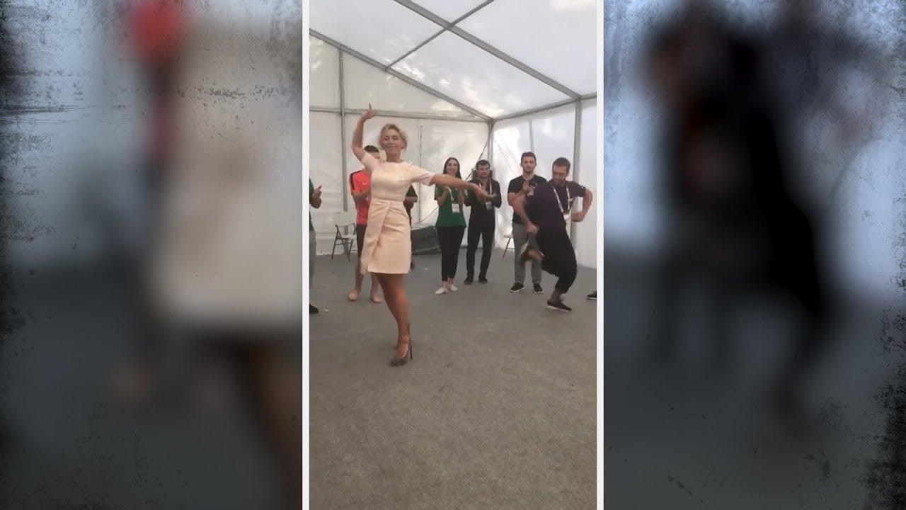 Лезгинка в исполнении Марии Захаровой взорвала Сеть