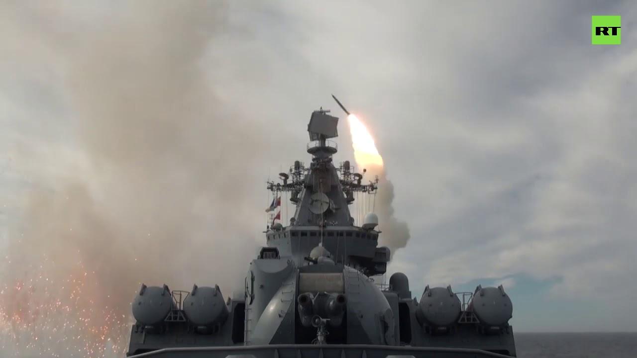 Тихоокеанский флот России провел учения в Охотском море