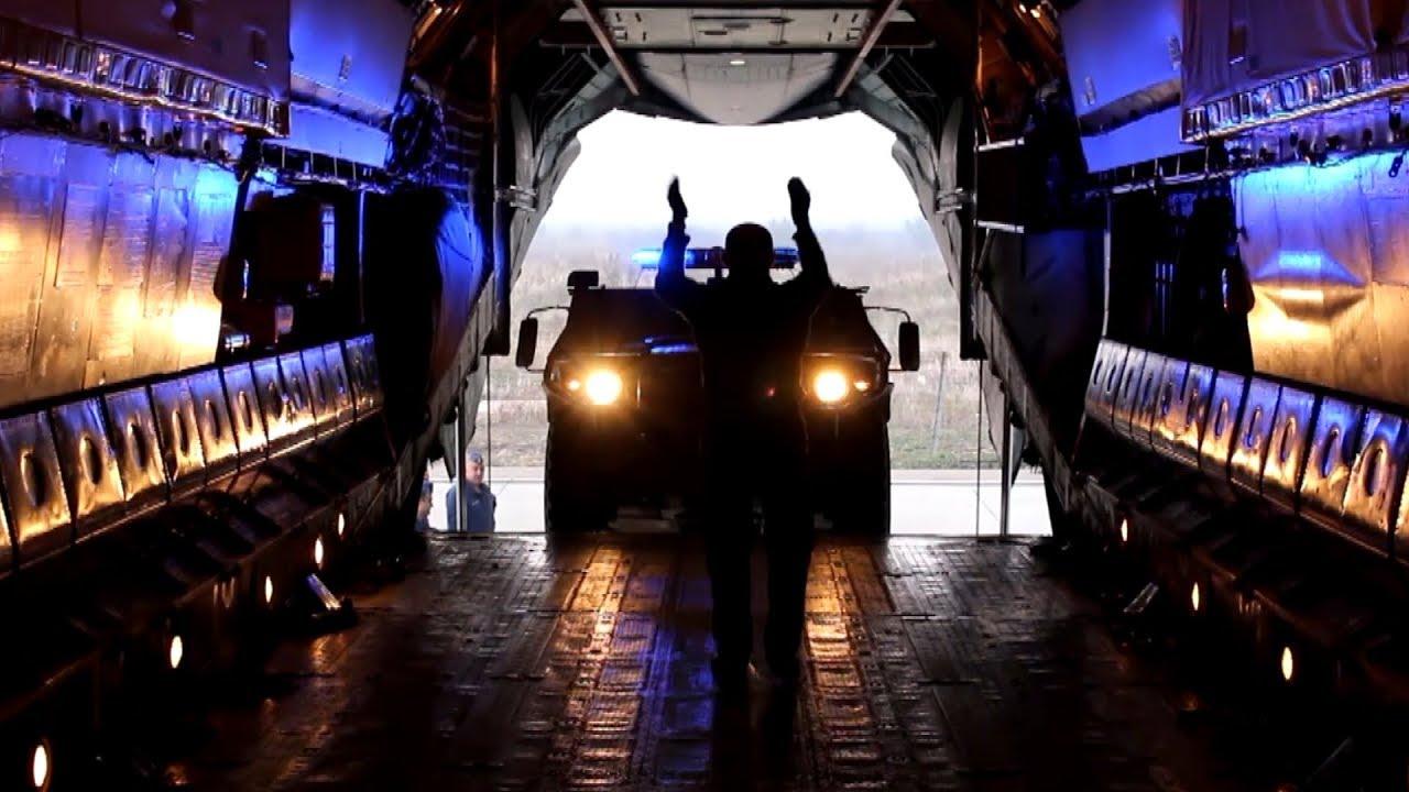 В Сирию доставлены десятки бронеавтомобилей для российской военной полиции