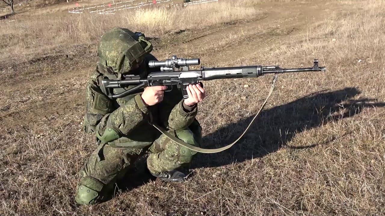 Российские снайперы отработали скоростную стрельбу в Южной Осетии